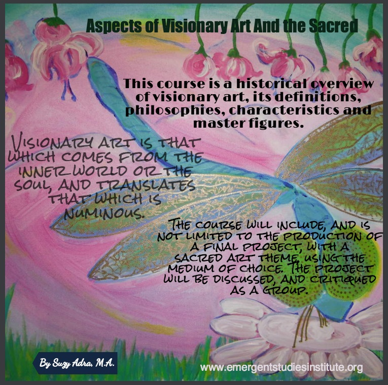 Aspects of Visionary Art and the Sacred Adra ESI 2016